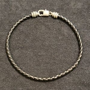 Jewelry - Braided Leather Choker
